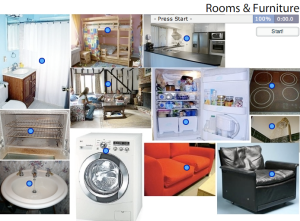 Flashcards Rooms Of A House Patrs
